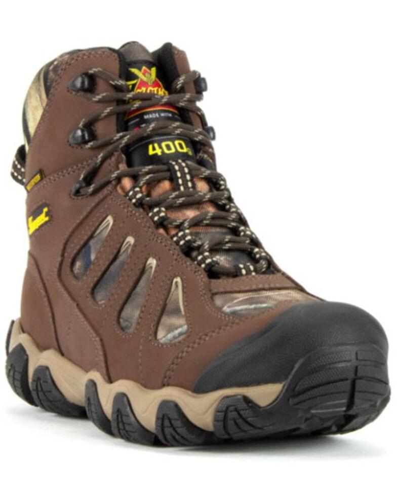 "Thorogood Men's 6"" Crosstrex Waterproof Work Boots - Soft Toe, Camouflage, hi-res"