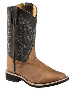 e779f044c7cc Swift Creek Boys  Cowboy Boots - Square Toe