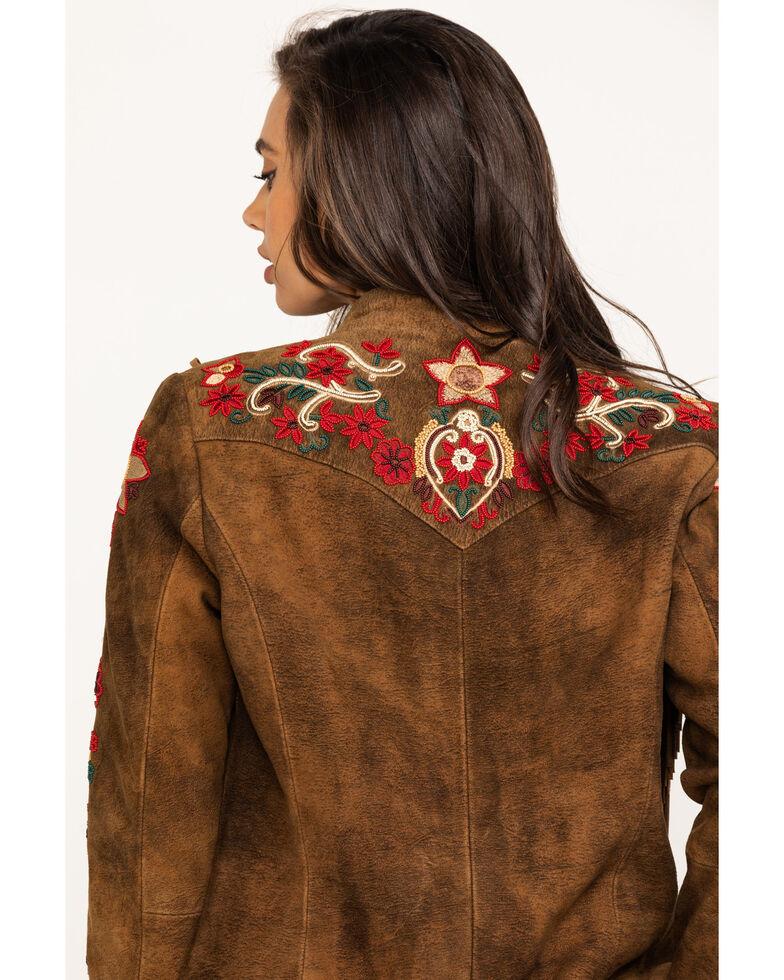 Tasha Polizzi Women's Kaya Suede Jacket, Brown, hi-res