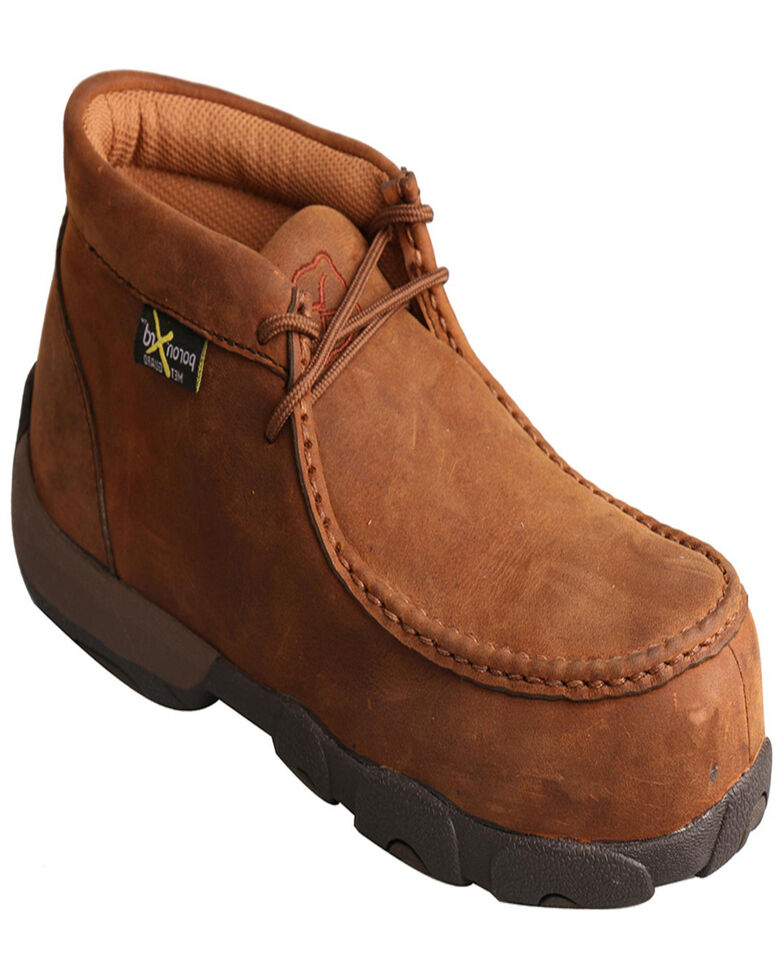 Twisted X Women's Light Brown Driving Mocs , Brown, hi-res