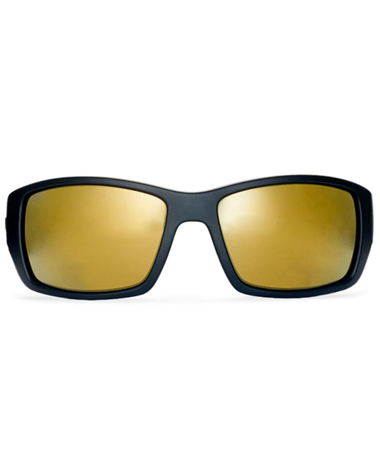 Hobie Men's Everglades Satin Black Frame Polarized Sunglasses  , Black, hi-res