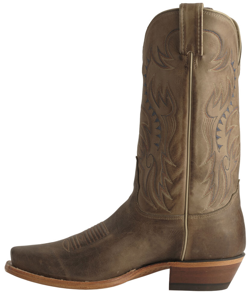 Nocona Men's Legacy Vintage Cowboy Boots - Narrow Square Toe , Tan, hi-res