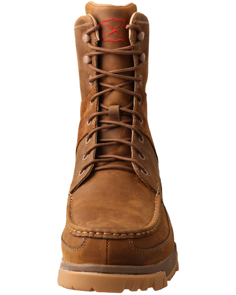 Twisted X Men's CellStretch Casual Walk Work Boots - Composite Toe, Brown, hi-res