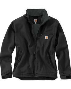 Carhartt Men's Black Crowley Nylon Work Jacket , Black, hi-res