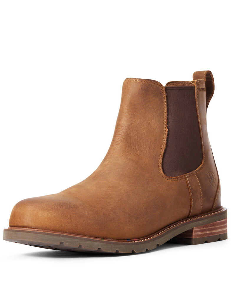 Ariat Men's Wexford Chukka Boots - Round Toe, Brown, hi-res