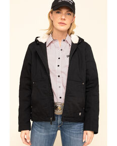 Ariat Women's Black R.E.A.L. Outlaw Jacket, Black, hi-res