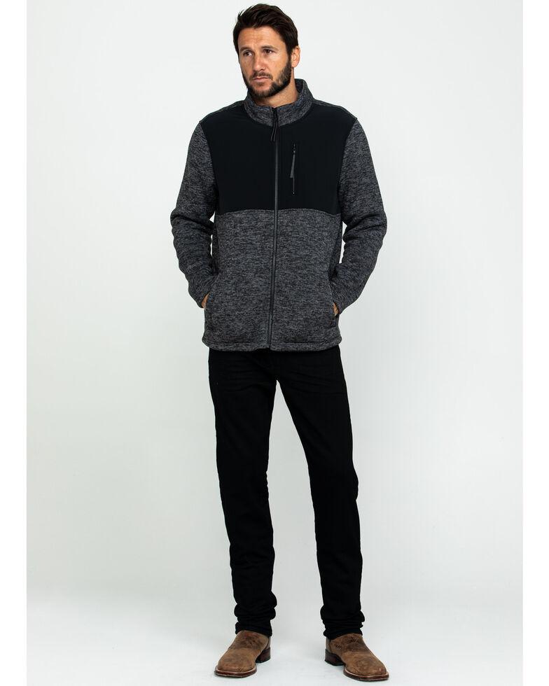 Cody James Men's Yosemite Contrast Bonded Fleece Sweatshirt , Black, hi-res