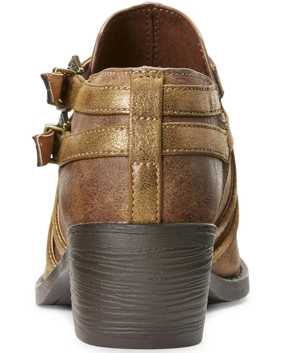 Ariat Women's Unbridled Sadie Harness Western Booties - Round Toe, , hi-res