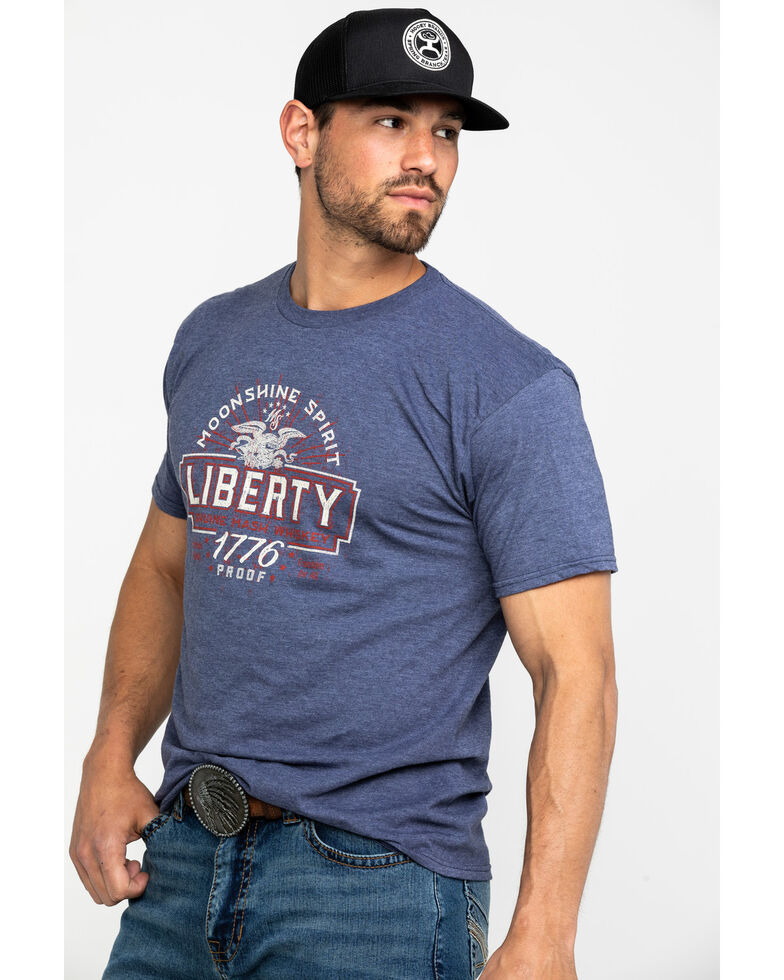Moonshine Spirit Men's Liberty Label Graphic T-Shirt , , hi-res