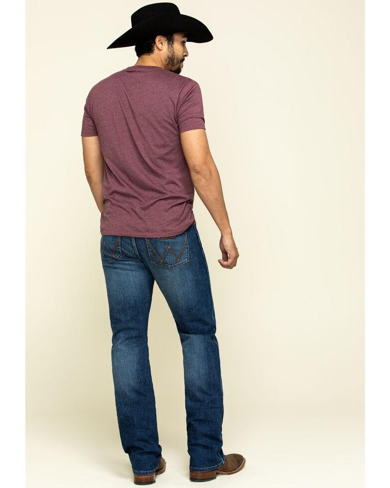 Wrangler Retro Men's Luling Stretch Slim Boot Jeans , Blue, hi-res