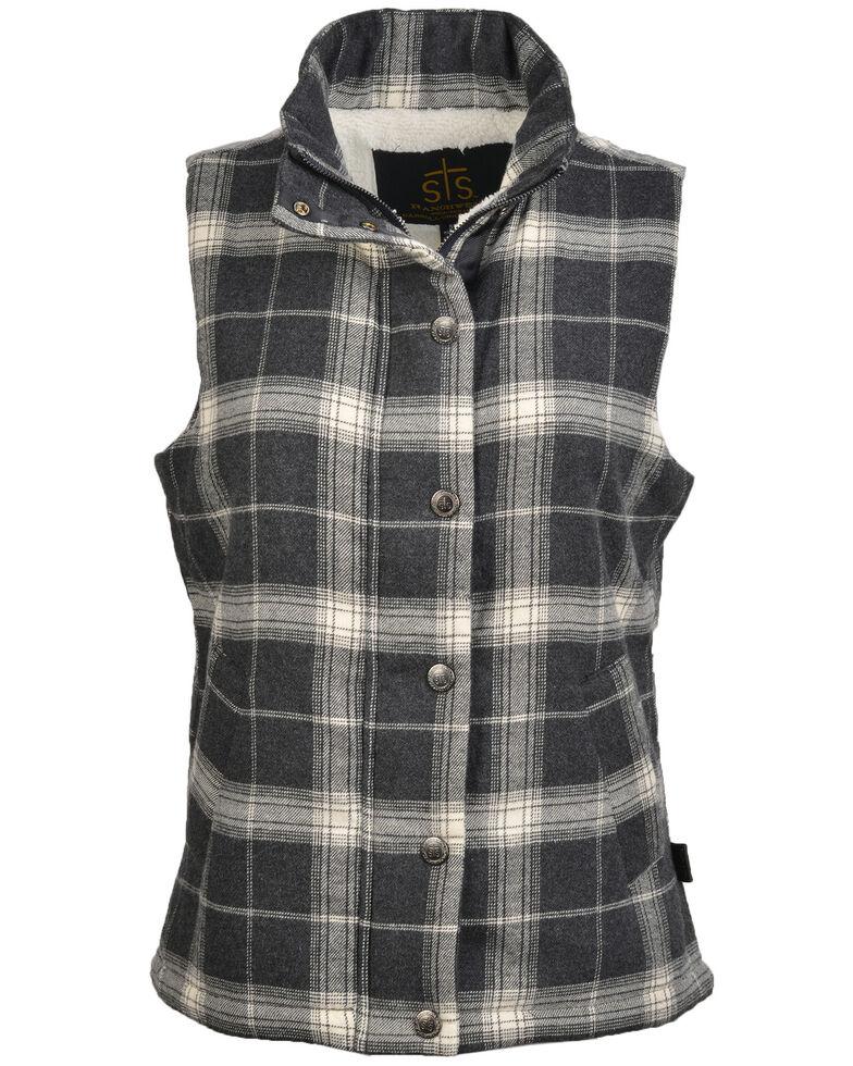 STS Ranchwear Women's Aspen Vest - Plus, Black, hi-res
