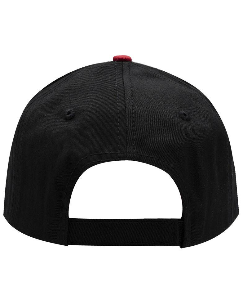 H Bar C Men's Black Direct Budweiser Logo Embroidered Ball Cap , Black, hi-res