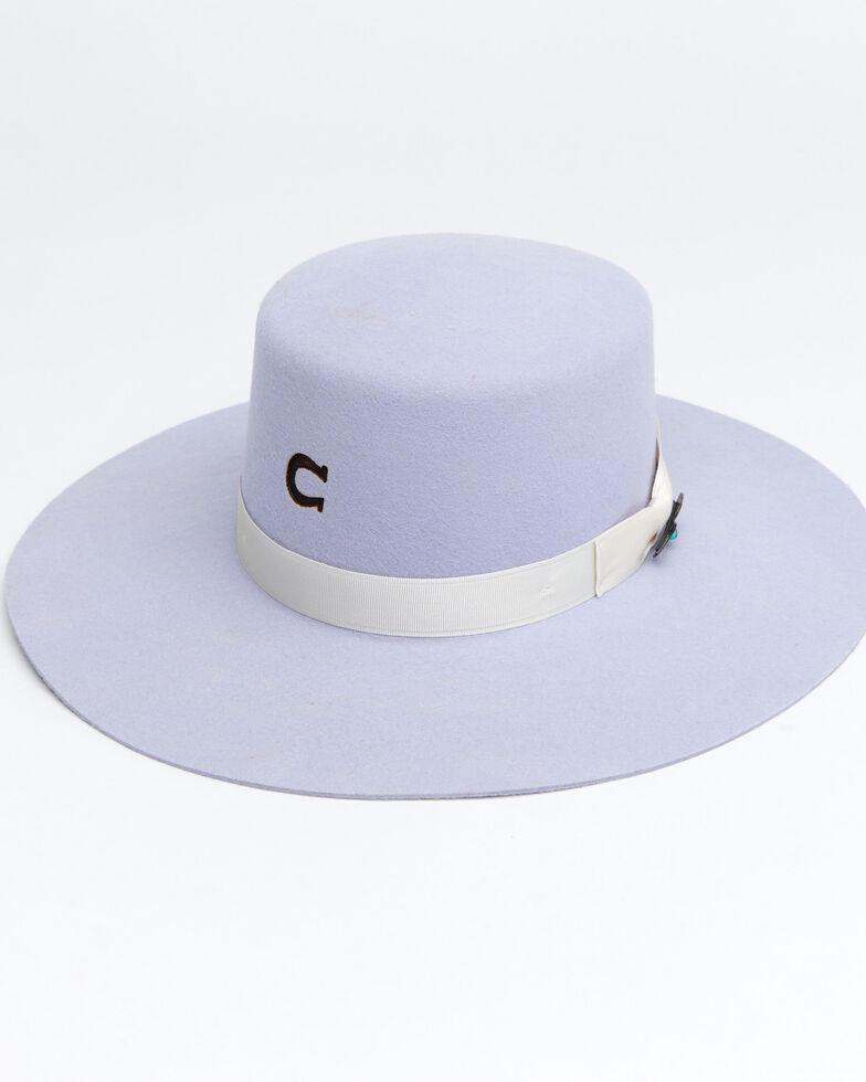 Charlie 1 Horse Women's Tumbleweed Periwinkle Western Hat, Periwinkle, hi-res
