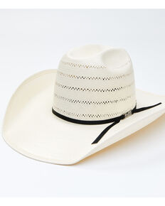 American Hat Co. Minnick Cord Straw Western Hat , No Color, hi-res