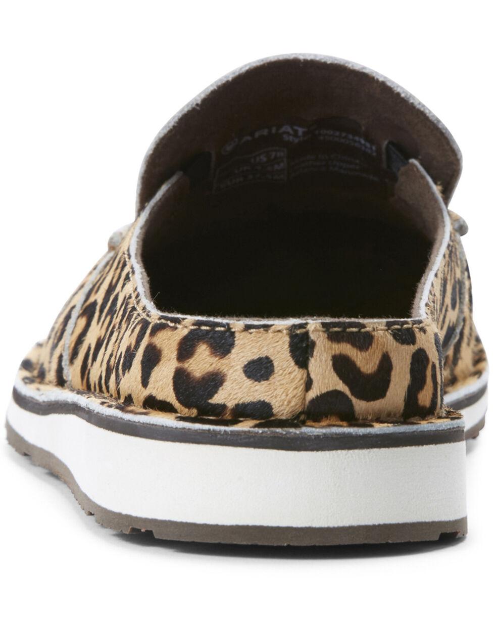 Ariat Women's Leopard Hair Cruiser Shoes - Moc Toe, Leopard, hi-res