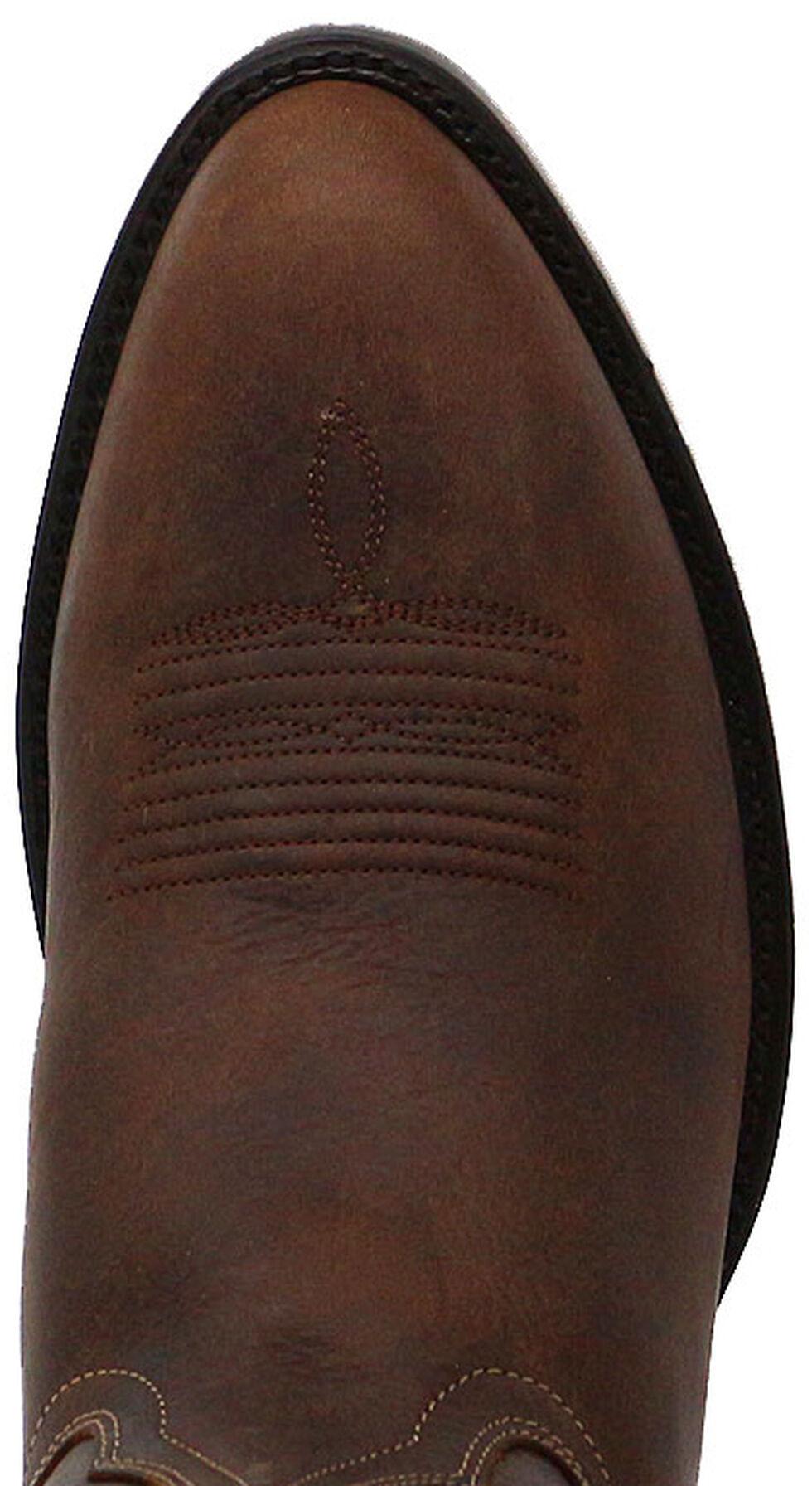 Cody James Men's Classic Brown Western Boots - Medium Toe, Brown, hi-res