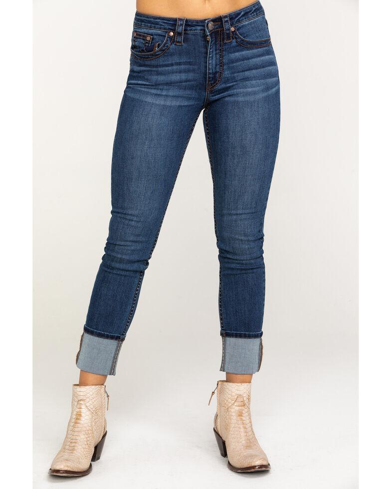Shyanne Women's Medium Basic Skinny Jeans , Blue, hi-res