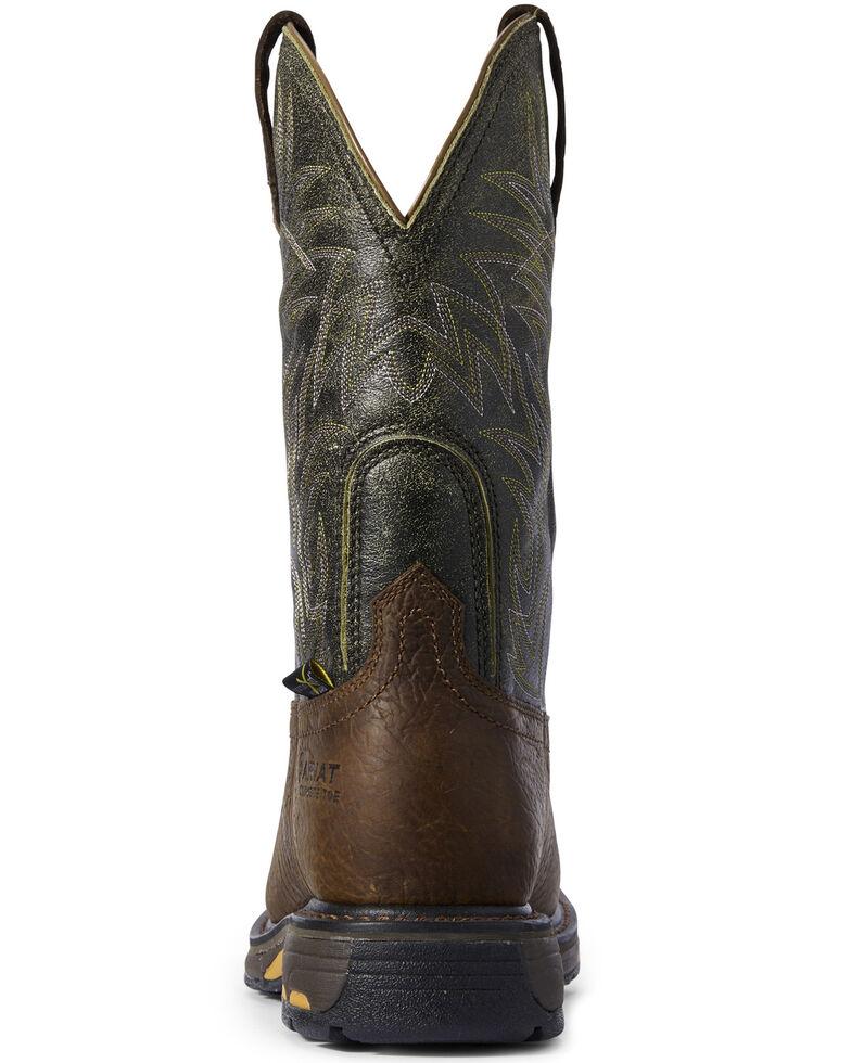 Ariat Men's WorkHog CSA Work Boots - Composite Toe, Brown, hi-res