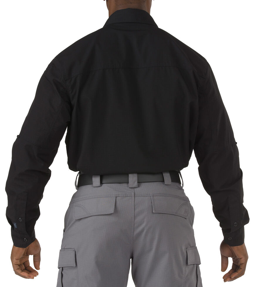 5.11 Tactical Stryke Long Sleeve Shirt - 3XL, Black, hi-res