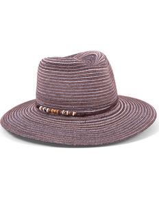 Physician Endorsed Women's Phoenix Black Metallic Shimmer Hat, Black, hi-res
