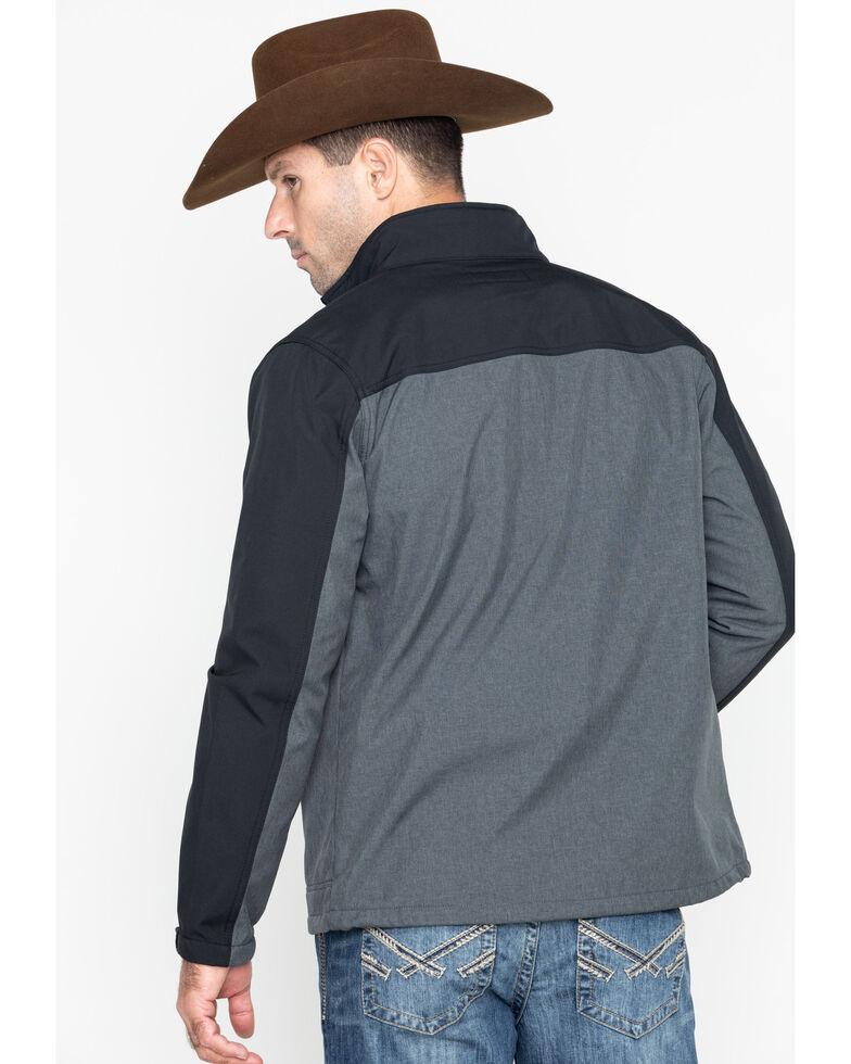 Cody James Core Men's Poly Zip-Up Steamboat Softshell Jacket - Big , Black, hi-res