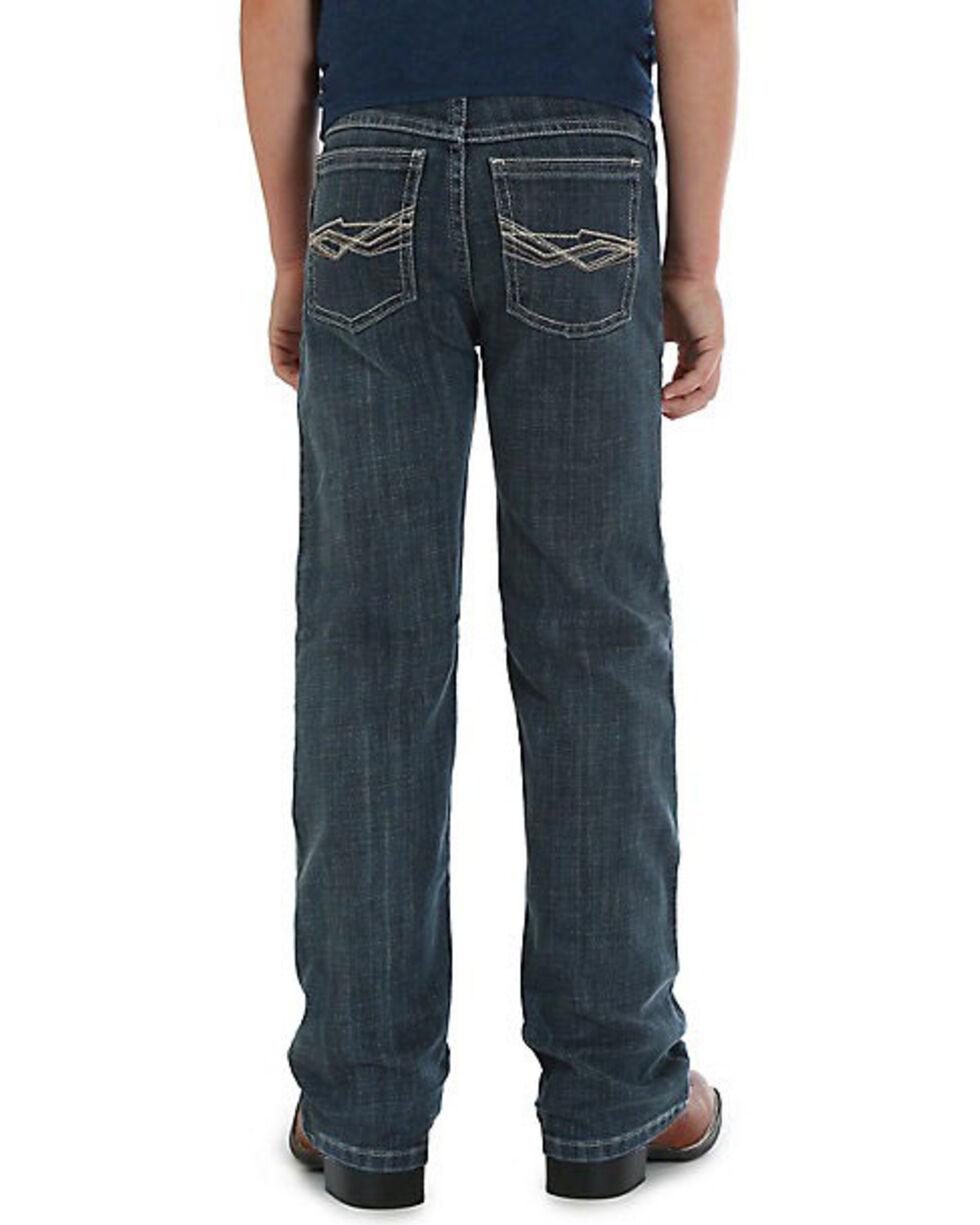 Wrangler 20X Boys' No.42 Glasgow Vintage Boot Jeans , Blue, hi-res