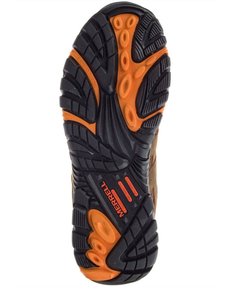 Merrell Men's MOAB Vertex Waterproof Work Boots - Composite Toe, Brown, hi-res