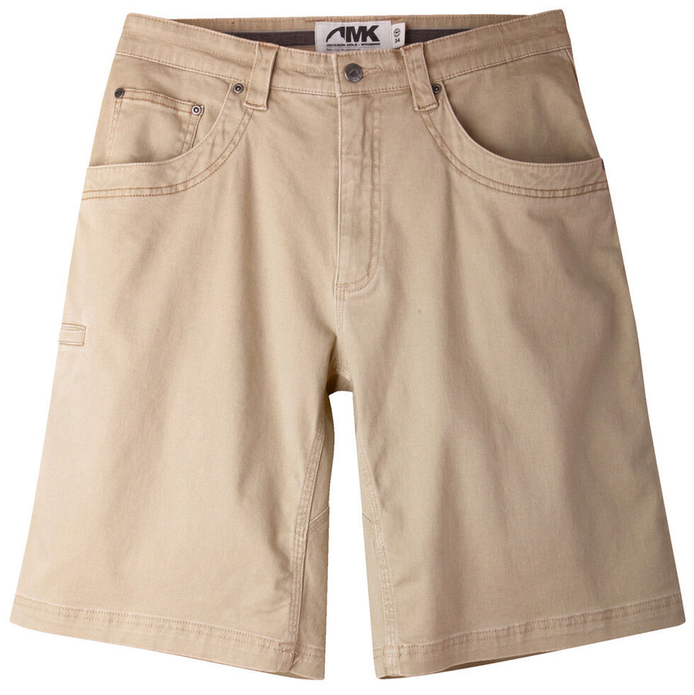 "Mountain Khakis Men's Classic Fit Camber 105 Shorts - 9"" Inseam, Tan, hi-res"