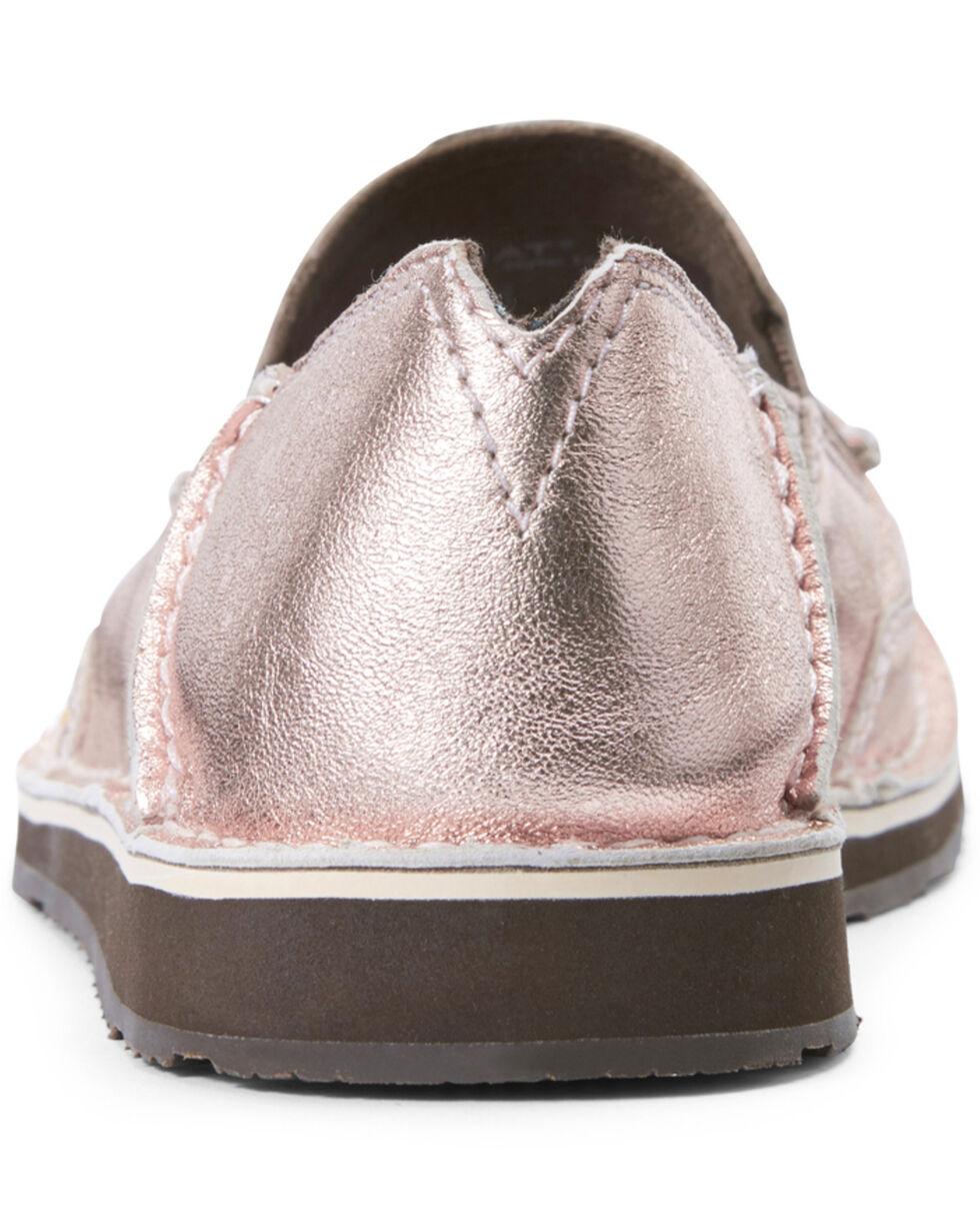 Ariat Women's Rose Gold Cruiser Shoes - Moc Toe, Pink, hi-res