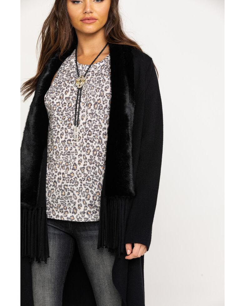 Ariat Women's Gambler Sweater, Black, hi-res