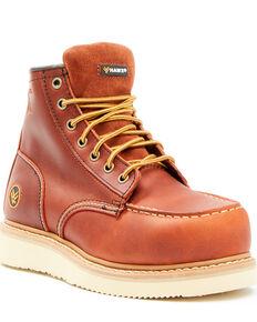 Hawx Women's Gradient Waterproof Work Boots - Composite Toe, Brown, hi-res