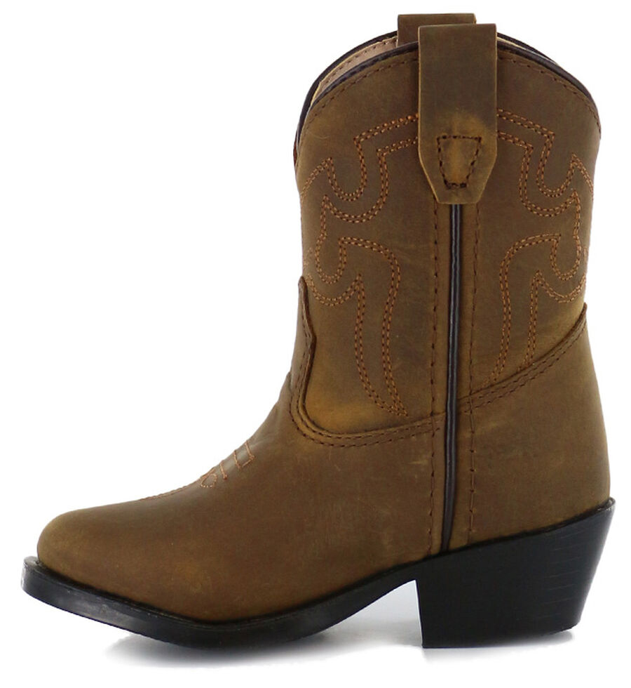 d31de17e116 Cody James Toddler Western Boots - Round Toe - Country Outfitter