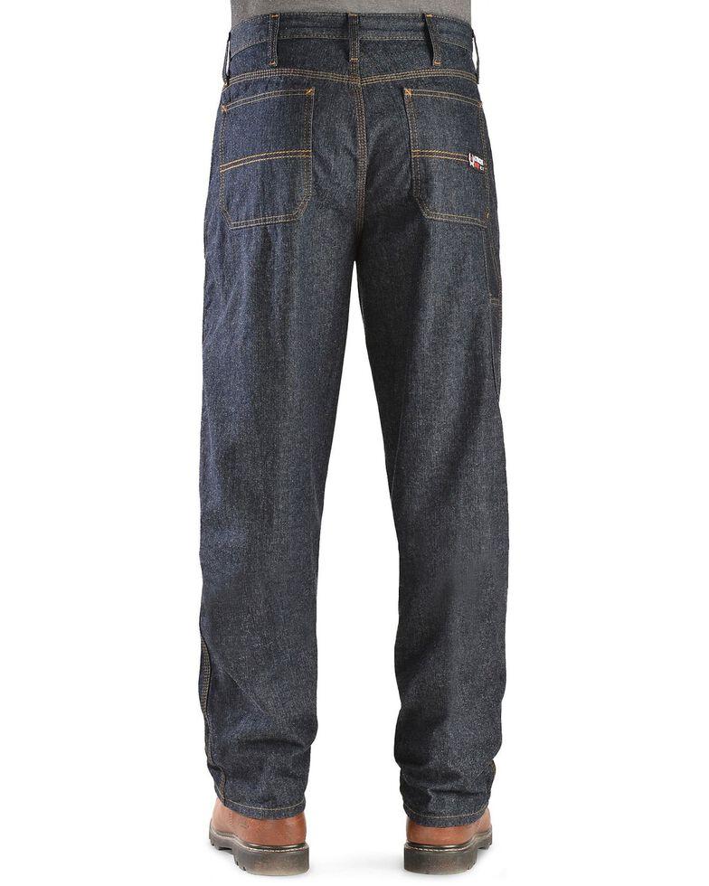 Cinch WRX Flame-Resistant Blue Label Carpenter Jeans, Dark Rinse, hi-res