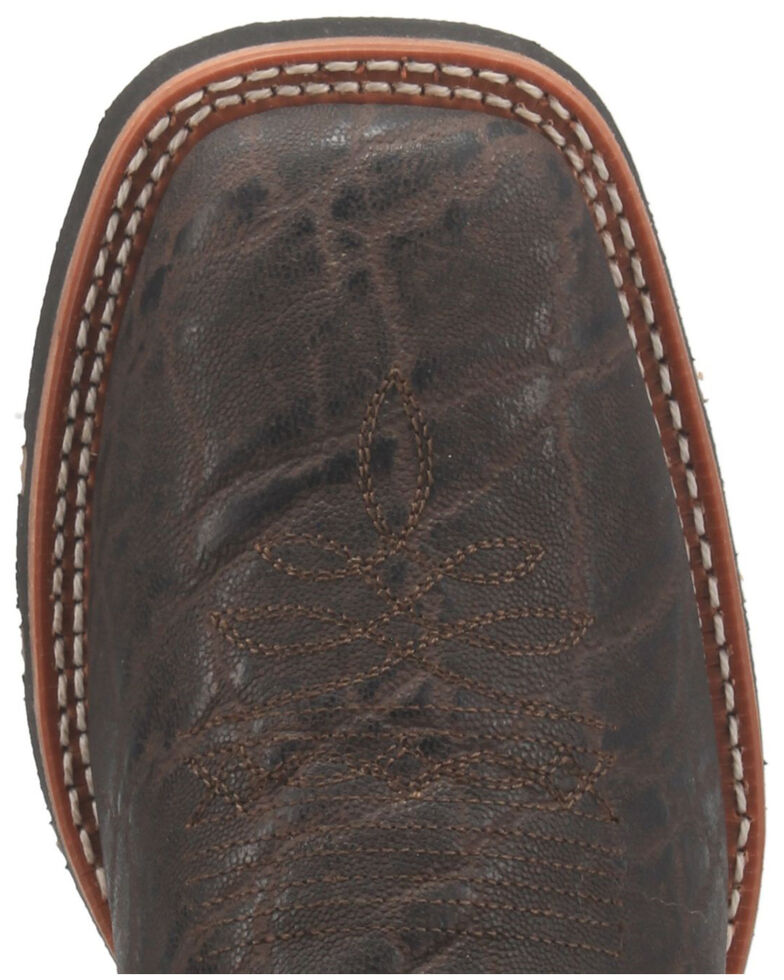 Laredo Men's Dillon Western Boots - Wide Square Toe, Brown, hi-res
