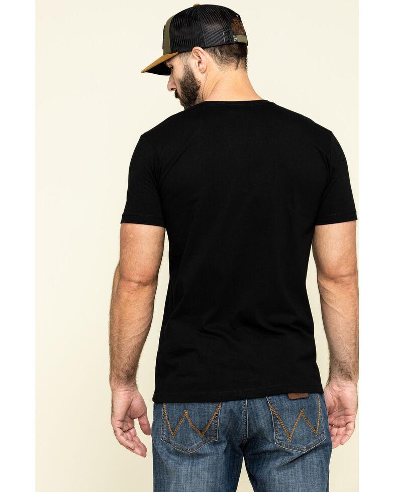 Cody James Men's Straight Outta Flag Graphic Short Sleeve T-Shirt , Black, hi-res