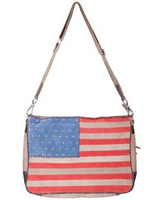 Scully Studded Patriotic Crossbody Bag, Patriotic, hi-res