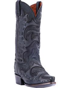 fc844073be1f Dan Post Men s Black Hensley Western Boots - Snip Toe
