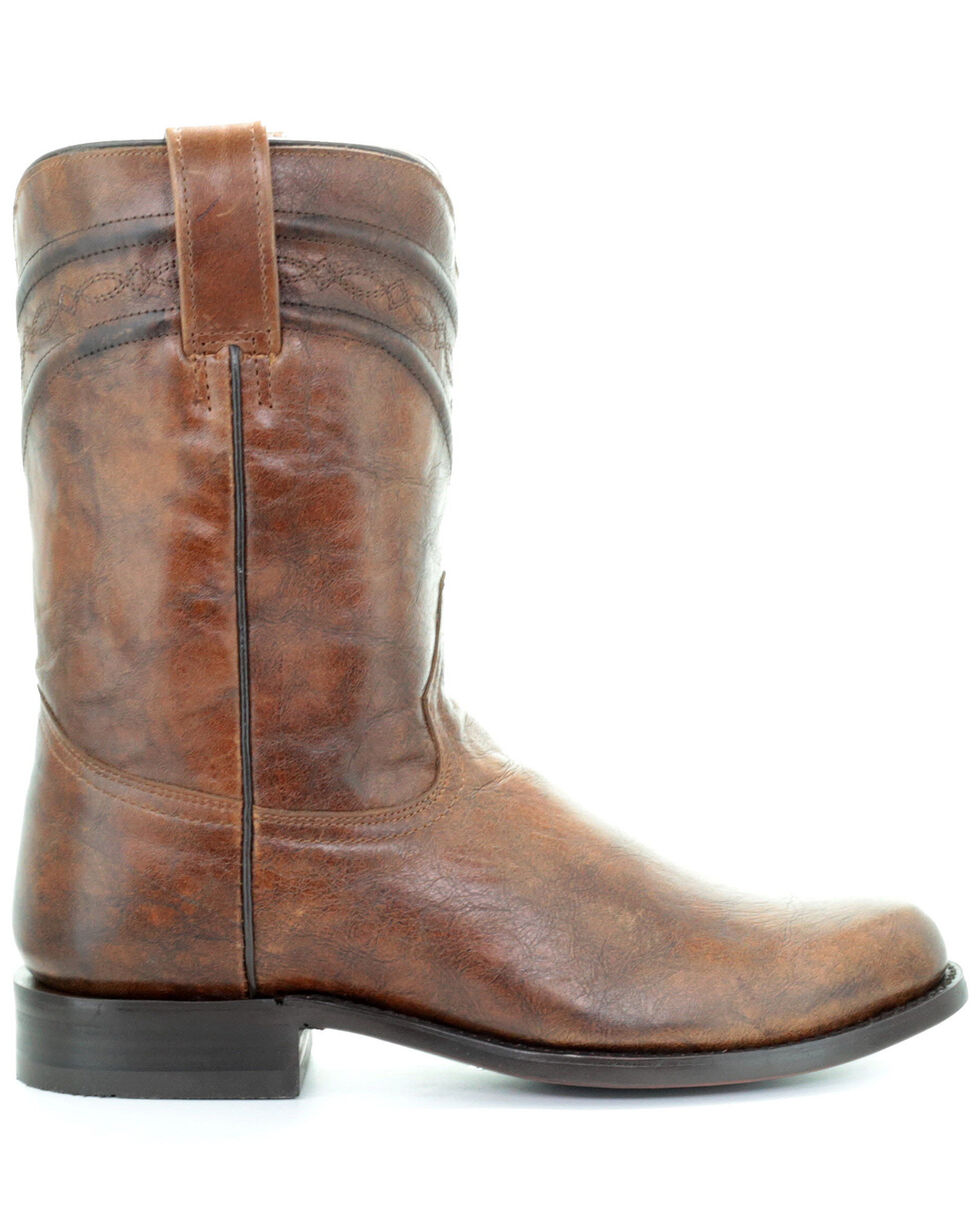 Corral Men's Lee Western Boots - Narrow Square Toe, Honey, hi-res