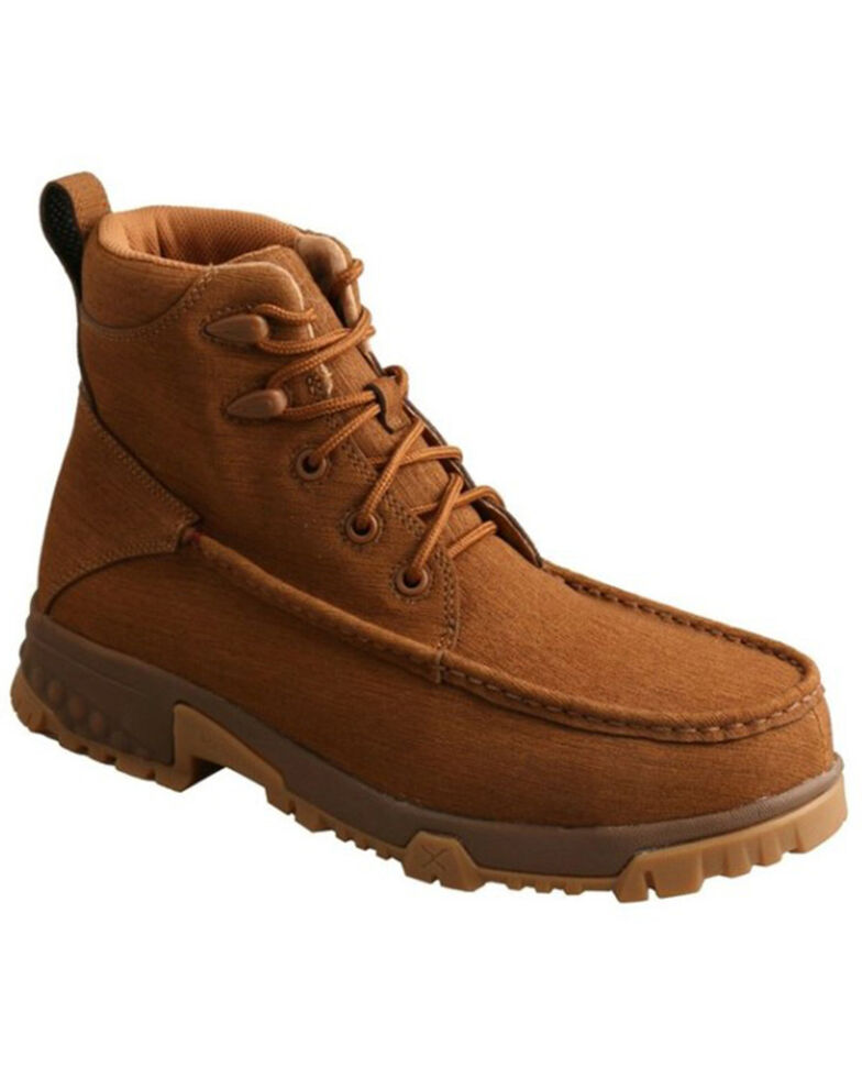 Twisted X Men's DuraTWX Lace-Up Work Boots - Composite Toe, Brown, hi-res