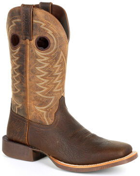 Durango Men's Rebel Pro Western Work Boots - Square Toe, Brown, hi-res