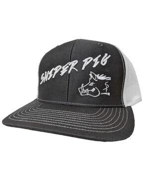 Oil Field Hats Men's Slate Puffy Pig Cap , Grey, hi-res