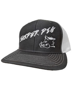 Oil Field Hats Men's Slate Puffy Pig Cap , Grey, hi-res