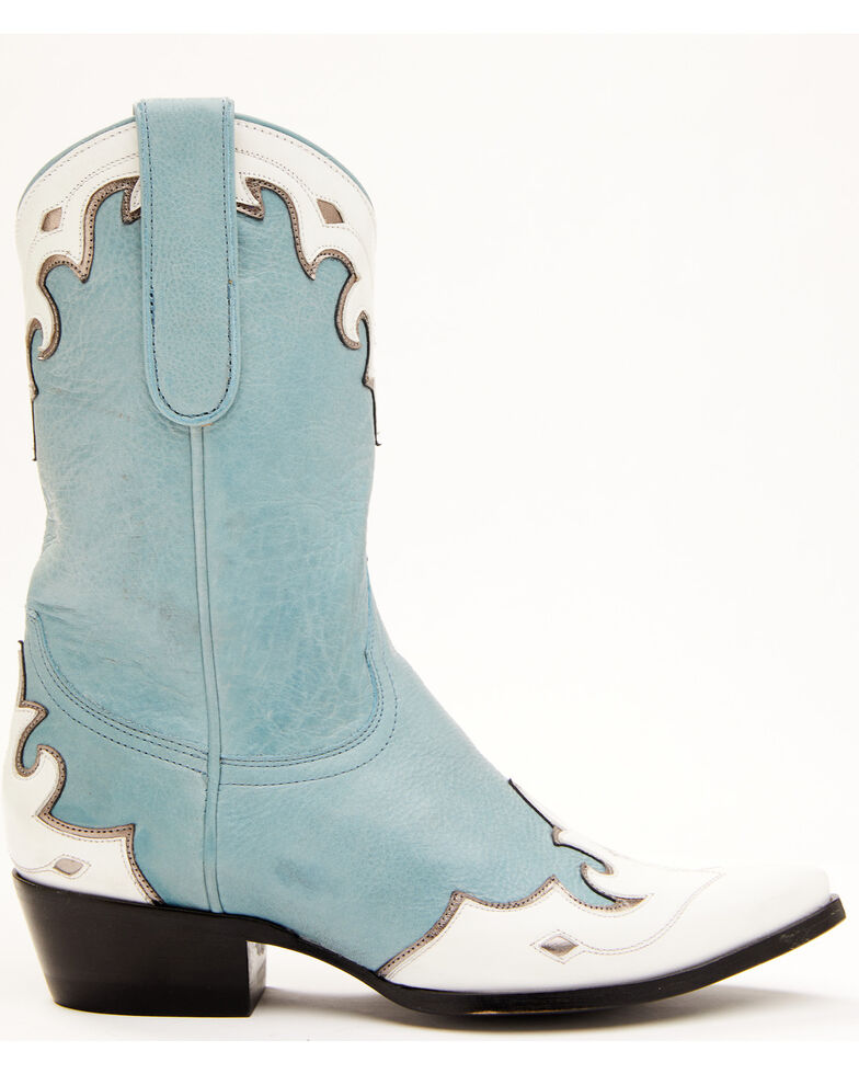 Idyllwind Women's Bluebelle Western Boots - Snip Toe, Blue, hi-res