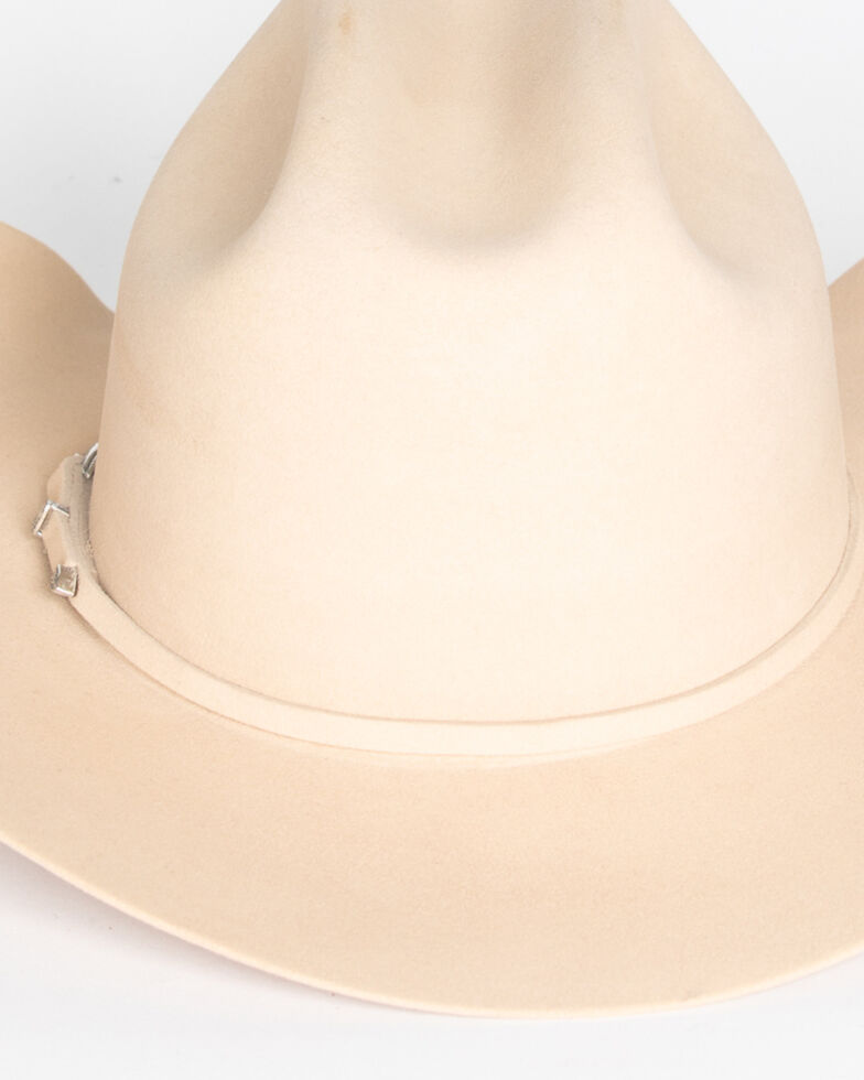 Cody James Men's 5X Silver Belly Felt Western Hat, Silverbelly, hi-res