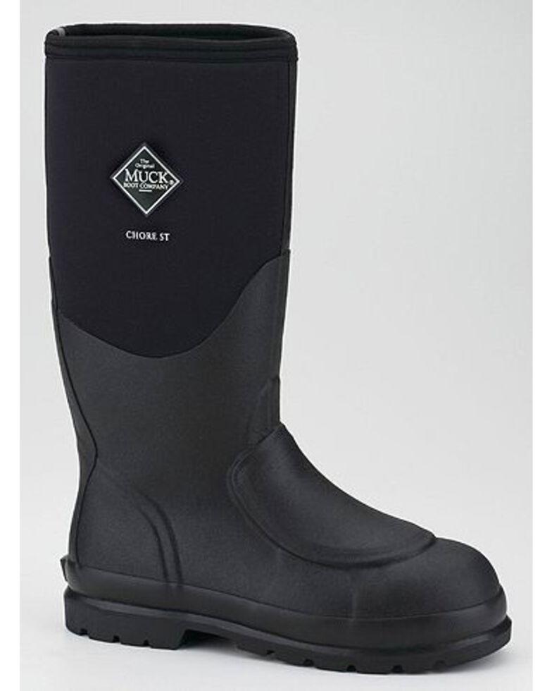 Muck Boots Chore Met Guard Work Boots - Steel Toe, Black, hi-res