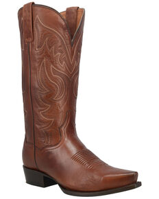 Dan Post Men's Wind River Western Boots - Snip Toe, Rust Copper, hi-res