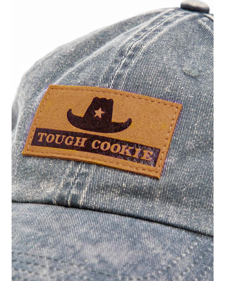 Idyllwind Women's Tough Cookie Baseball Cap , Grey, hi-res