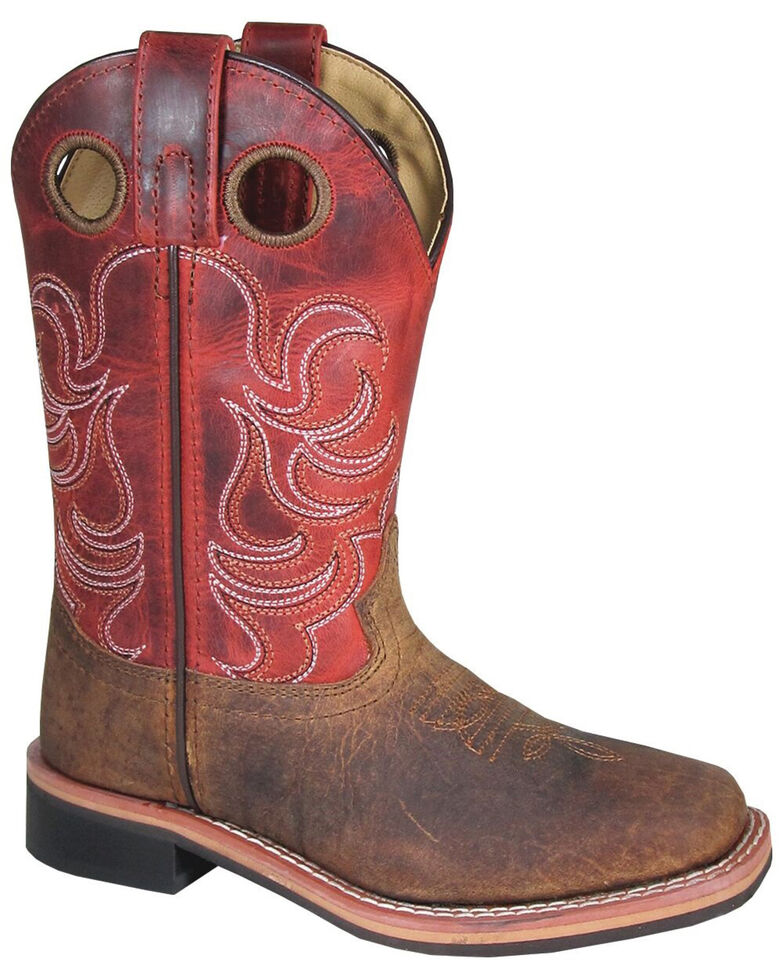 Smoky Mountain Youth Boys' Jesse Western Boots - Square Toe, , hi-res