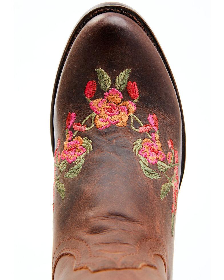 Shyanne Women's Frida Western Boots - Round Toe, Brown, hi-res