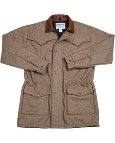 Schaefer Outfitter Men's 220 Wool Big Country Rancher Coat, Taupe, hi-res